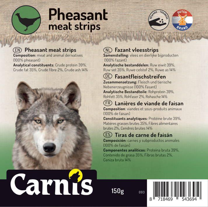 093a sticker klein fazant vleesstrips 905x90cmvoorzijde