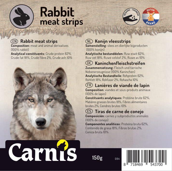 094a sticker klein konijn vleesstrips 905x90cmvoorzijde