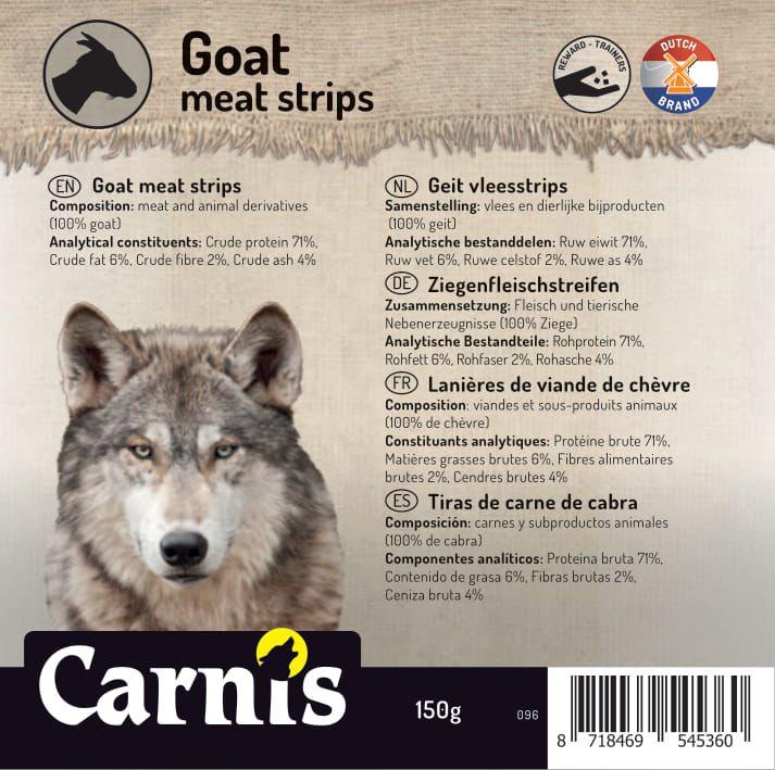 096a sticker klein geit vleesstrips 905x90cmvoorzijde