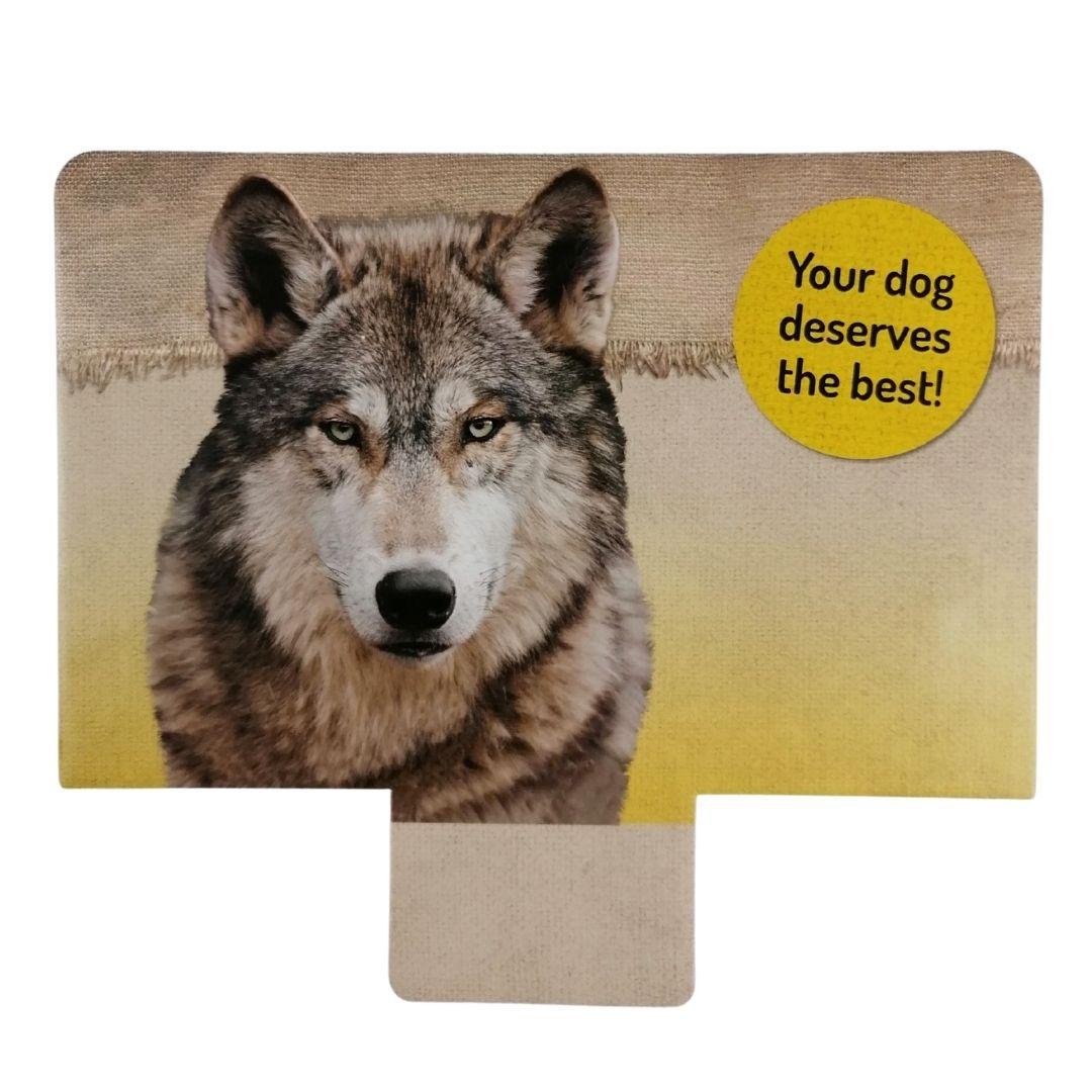 display hond leeg