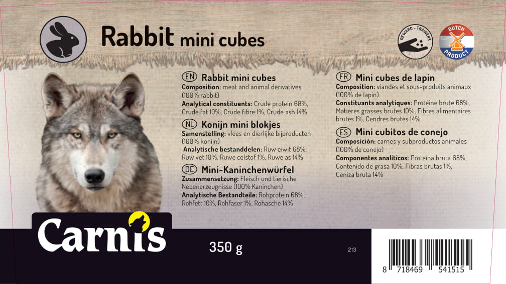 213a sticker emmer konijn mini blokjes 350g 128x72mmvoorzijde