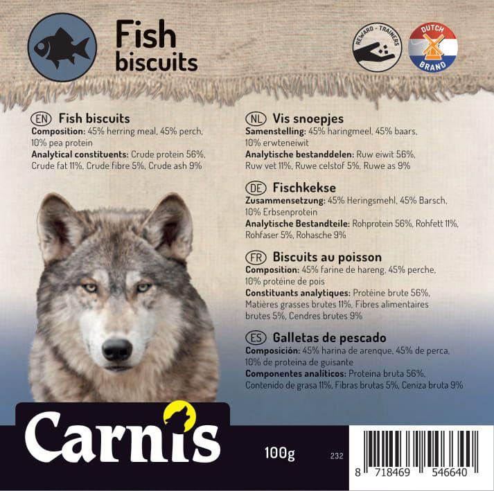232 sticker klein vis snoepjes 100g 905x90mm1