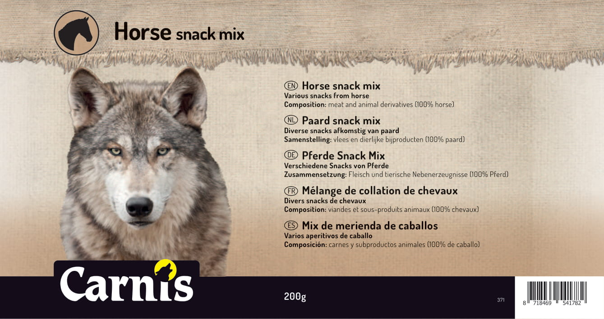 371a sticker groot paard snack mix 200g 170x90mmakkoord202010021