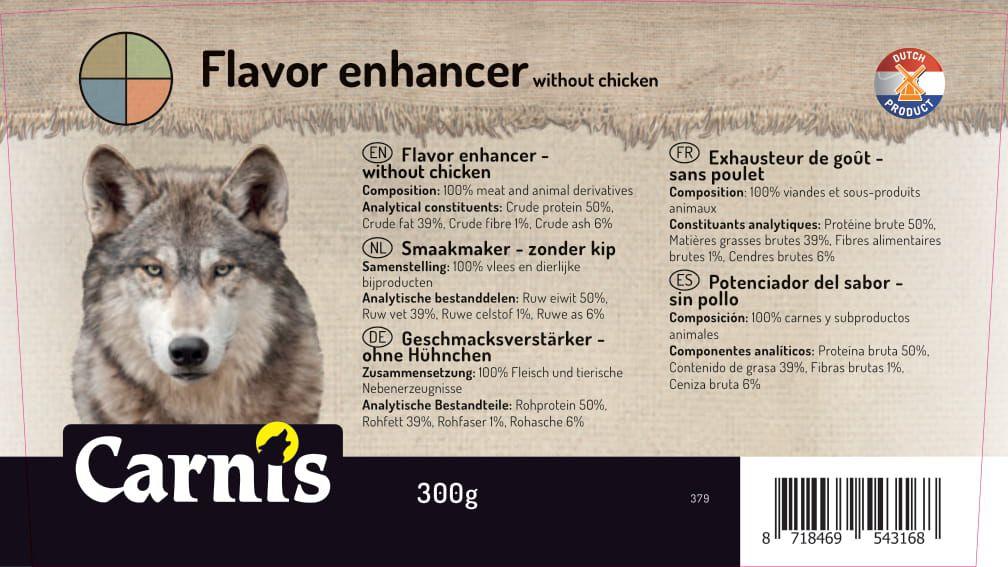 379a sticker emmer smaakmaker zonder kip 500g 128x72mmakkoord202010071