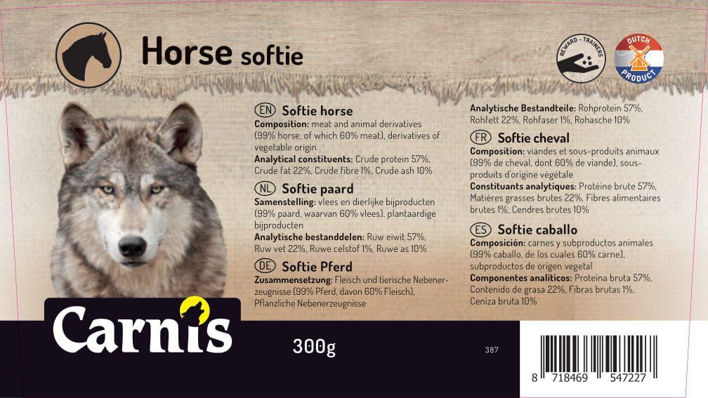 387a sticker emmer softie paard 300g 128x72mmakkoord202011021
