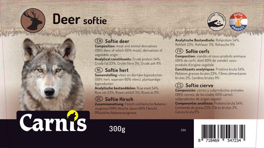 388a sticker emmer softie hert 300g 128x72mmakkoord202011021