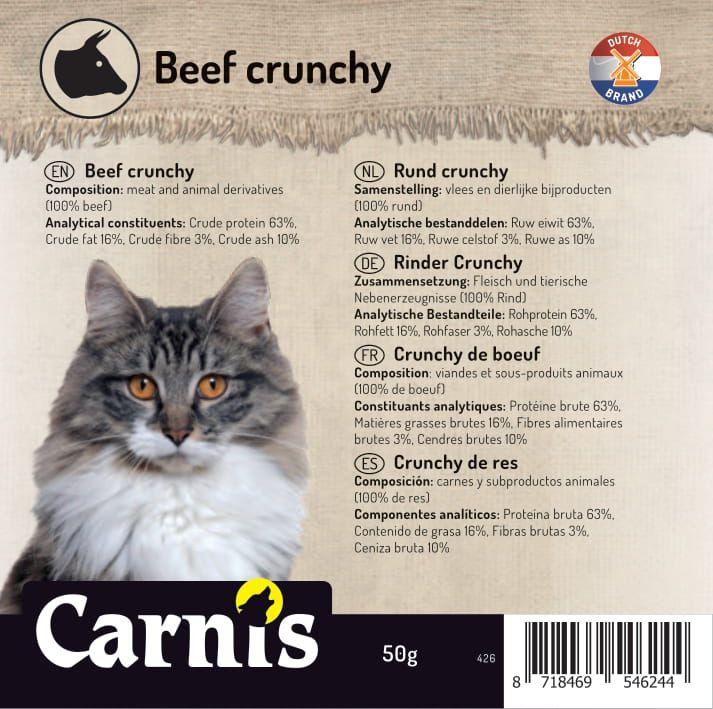 426 sticker kat klein cat crunchy rund 50g 905x90mmakkoord202106301