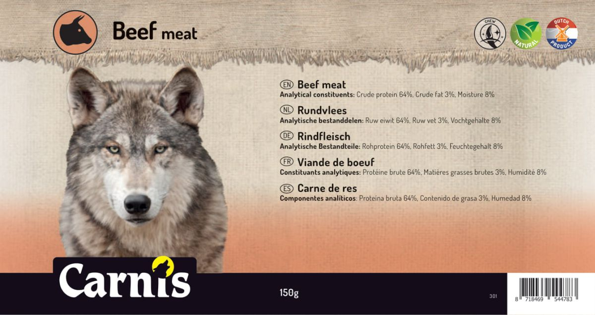beef meat 5 x 150g