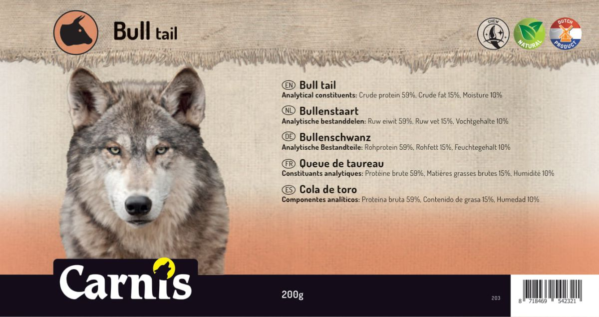 bull tail 5 x 200g