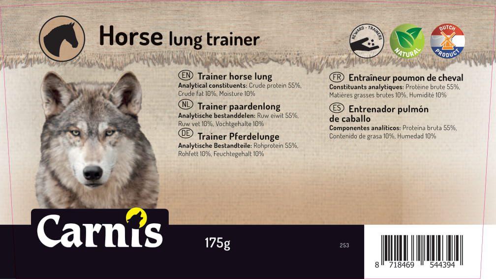 entrenador pulmn de caballo 8 x 175g cubeta
