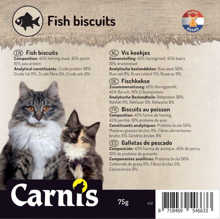 fish biscuits 5 x 75g