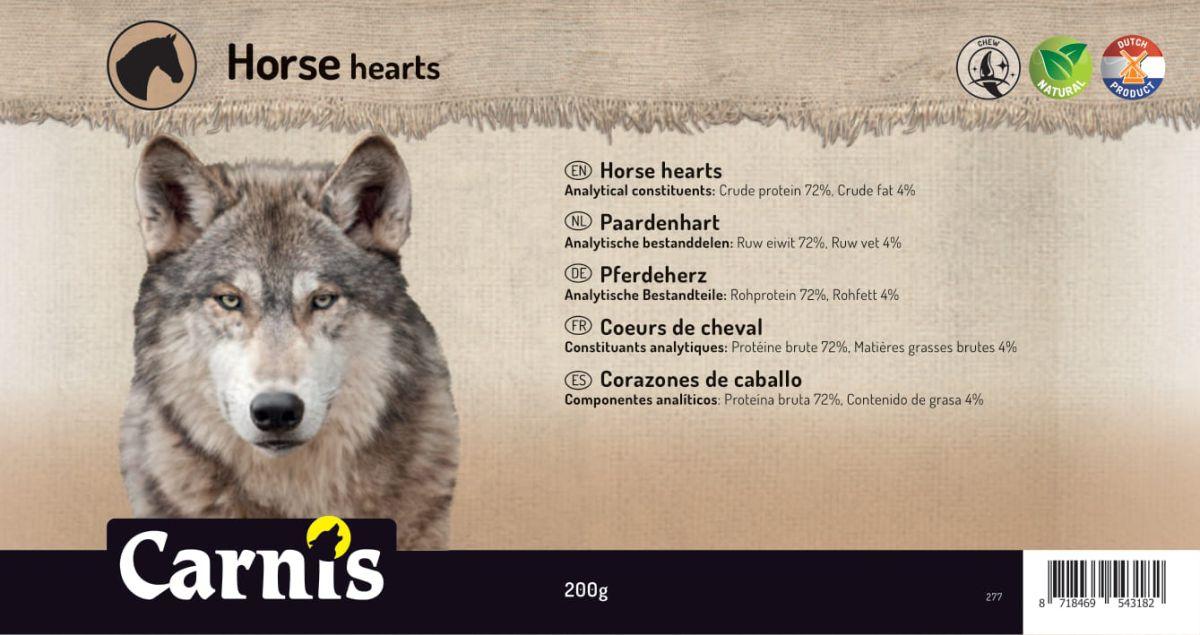 horse heart 5 x 200g