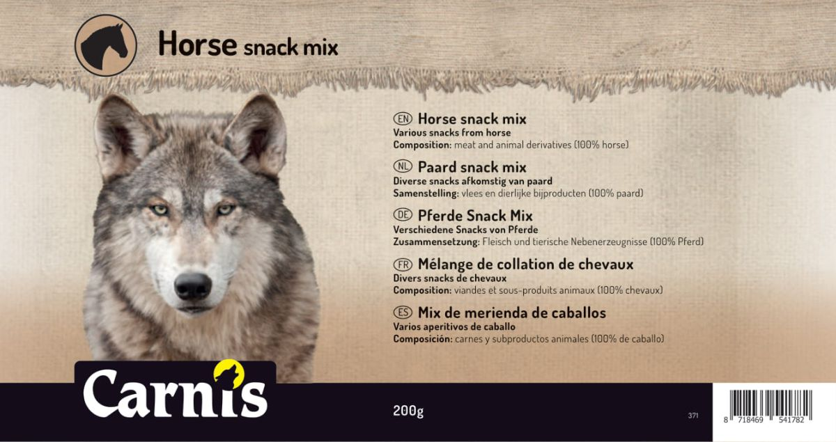 horse snack mix 5 x 200g