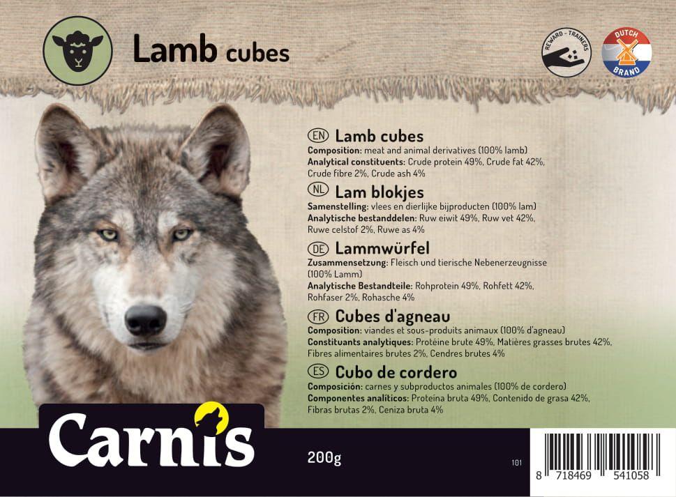 lamb cubes 5 x 200g