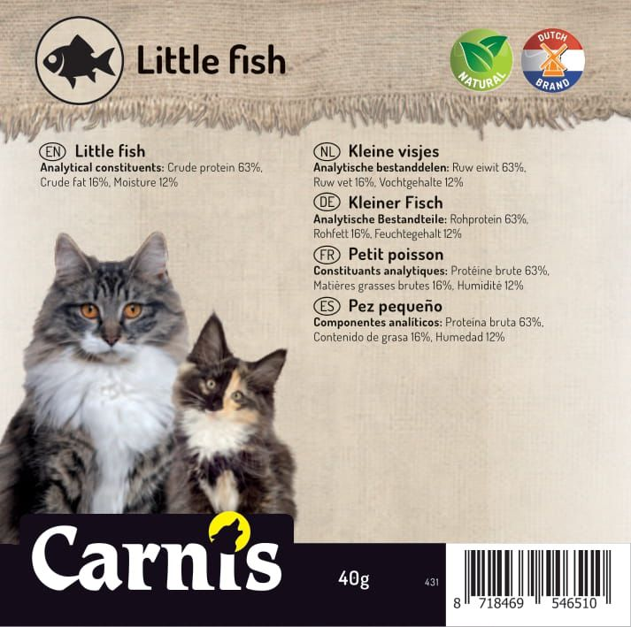 little fish 5 x 40g