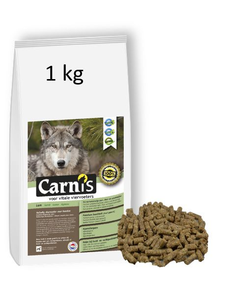mini pressed kibbles rich in lamb 1kg