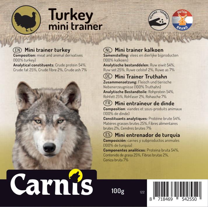 mini trainer turkey 5 x 100g