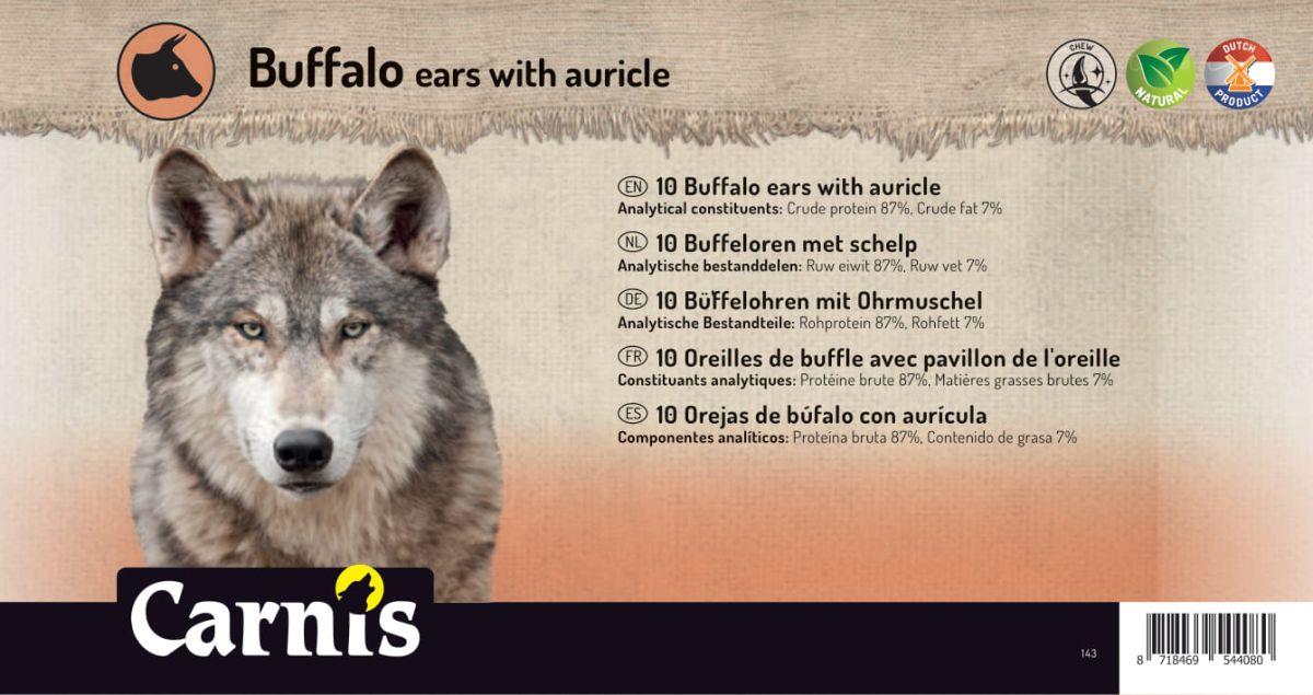 oreilles de buffle avec pavillon de loreille 5 x 10 pices