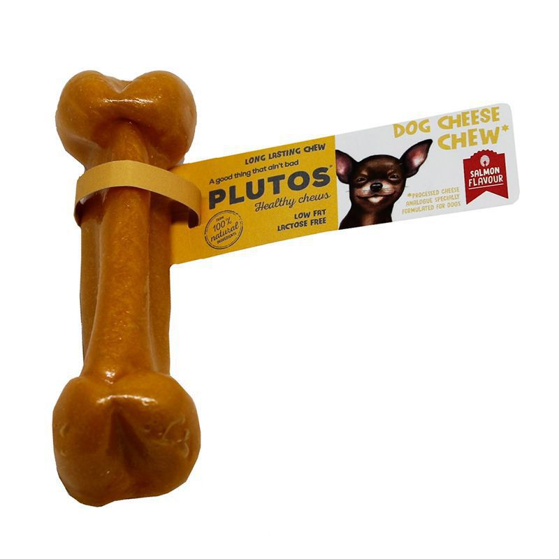 plutos chew a fromage saumon large 15pc