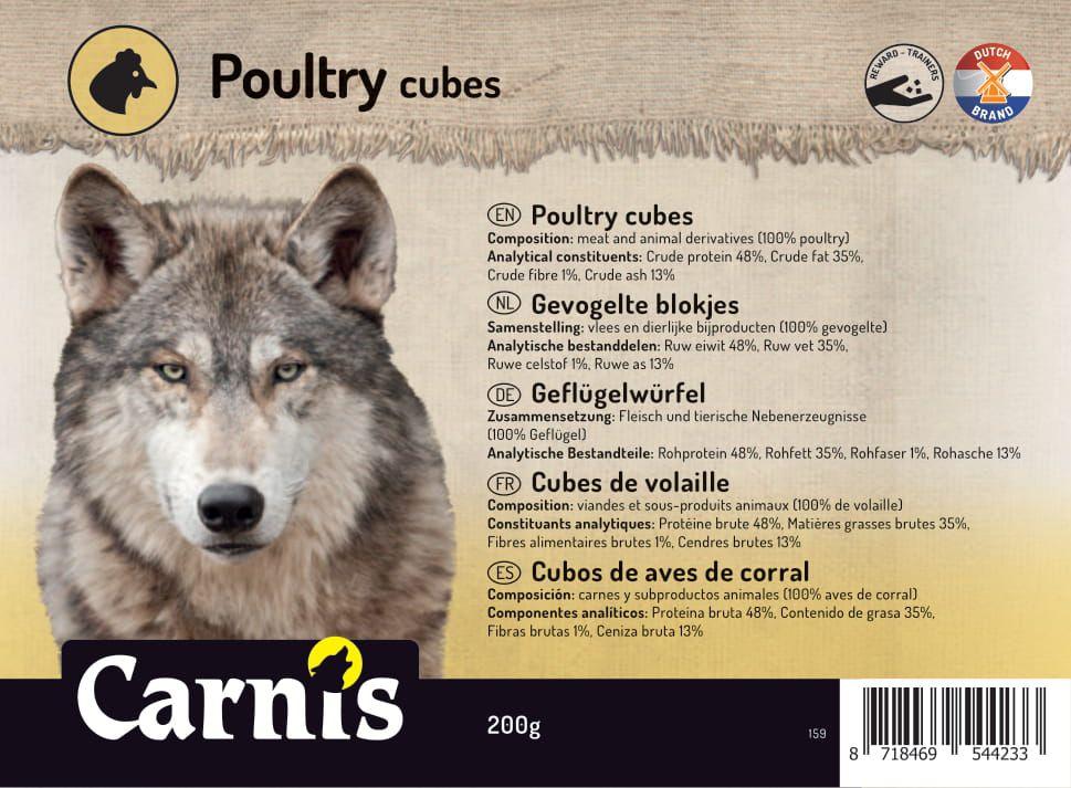 poultry cubes 5 x 200g