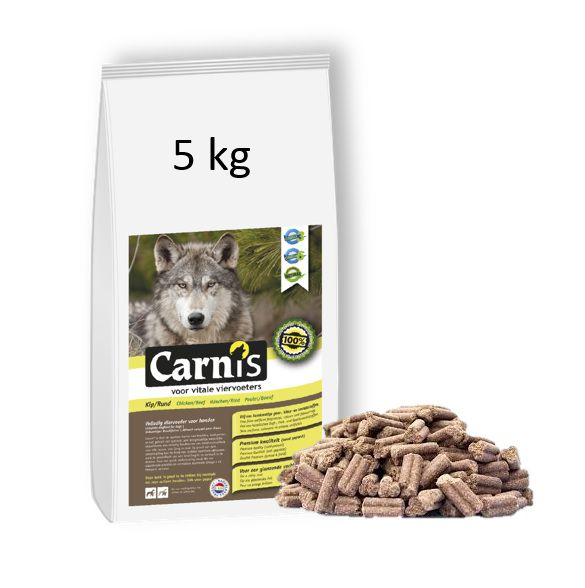pressed kibbles chicken 5kg