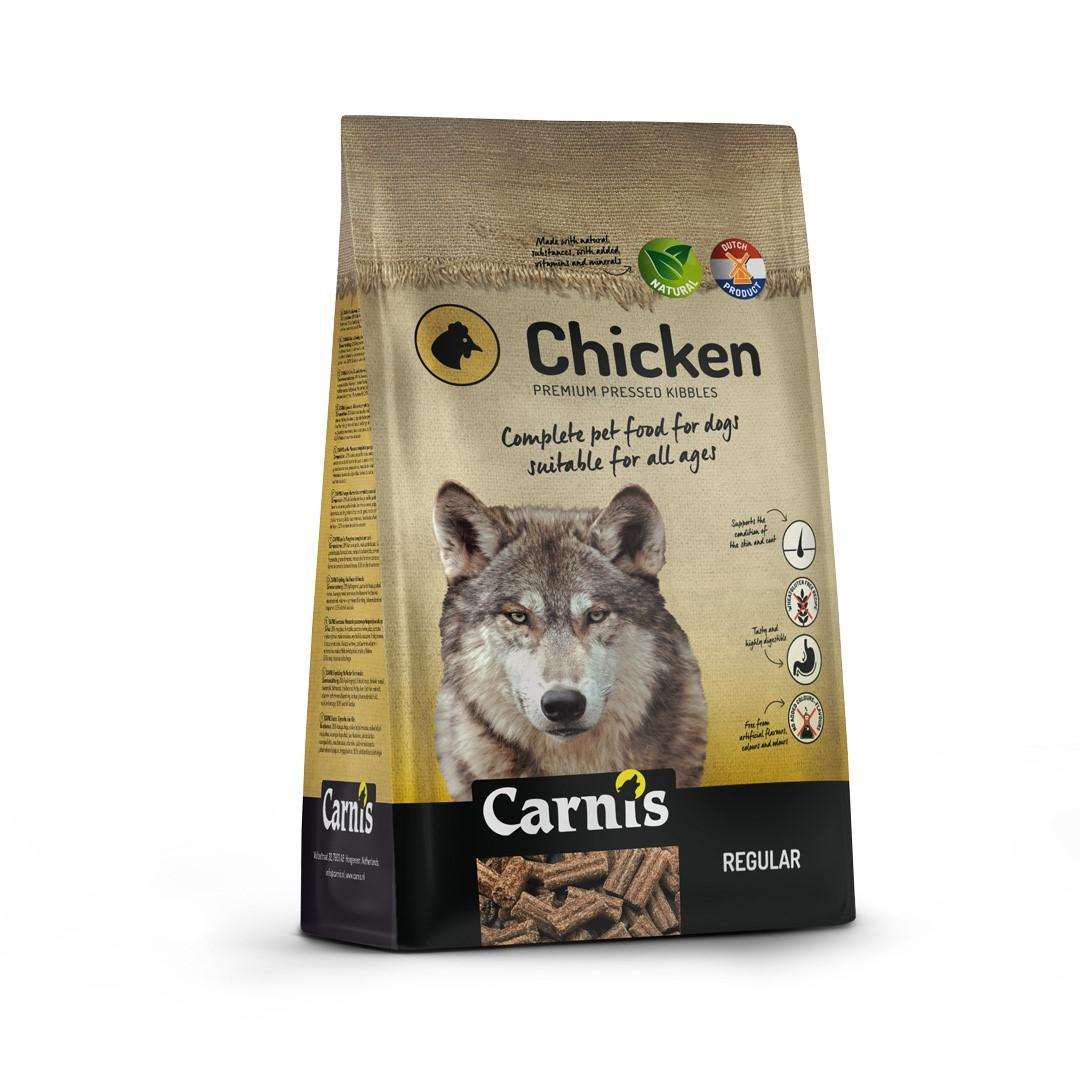 pressed kibbles chicken regular 125kg