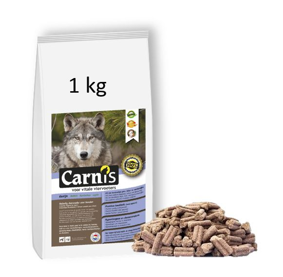 pressed kibbles rabbit 1kg
