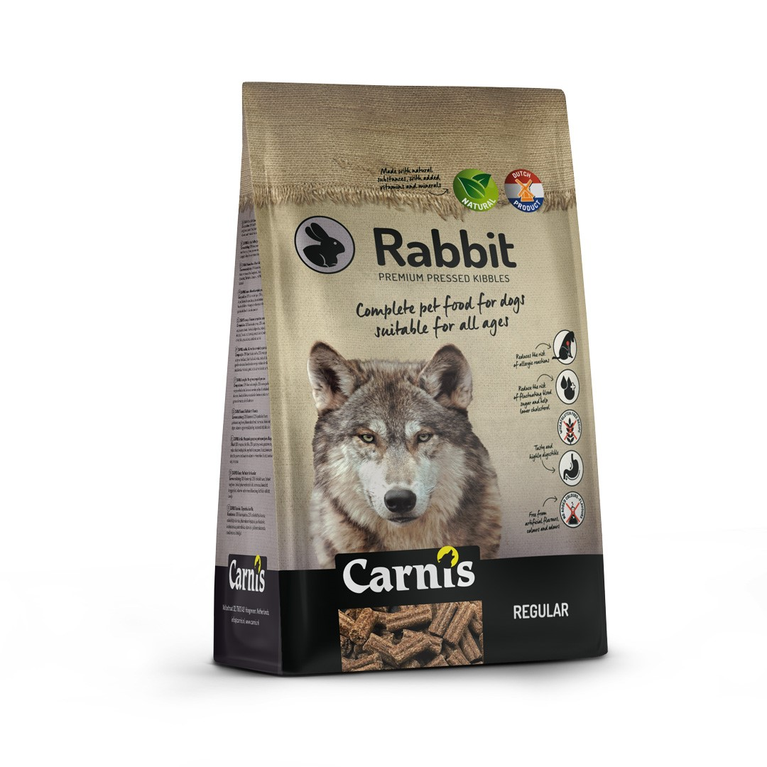 pressed kibbles rabbit regular 2kg