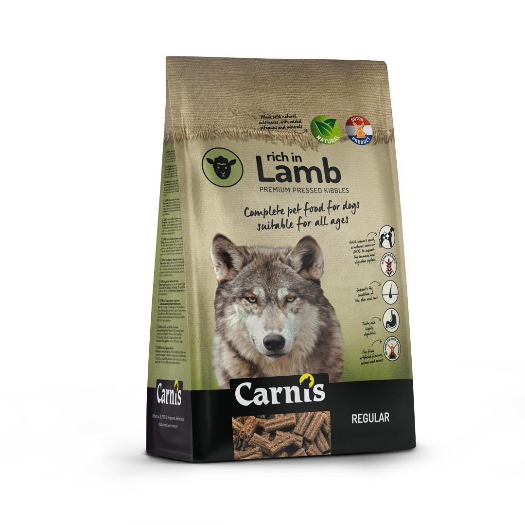 pressed kibbles rich in lamb regular 125kg