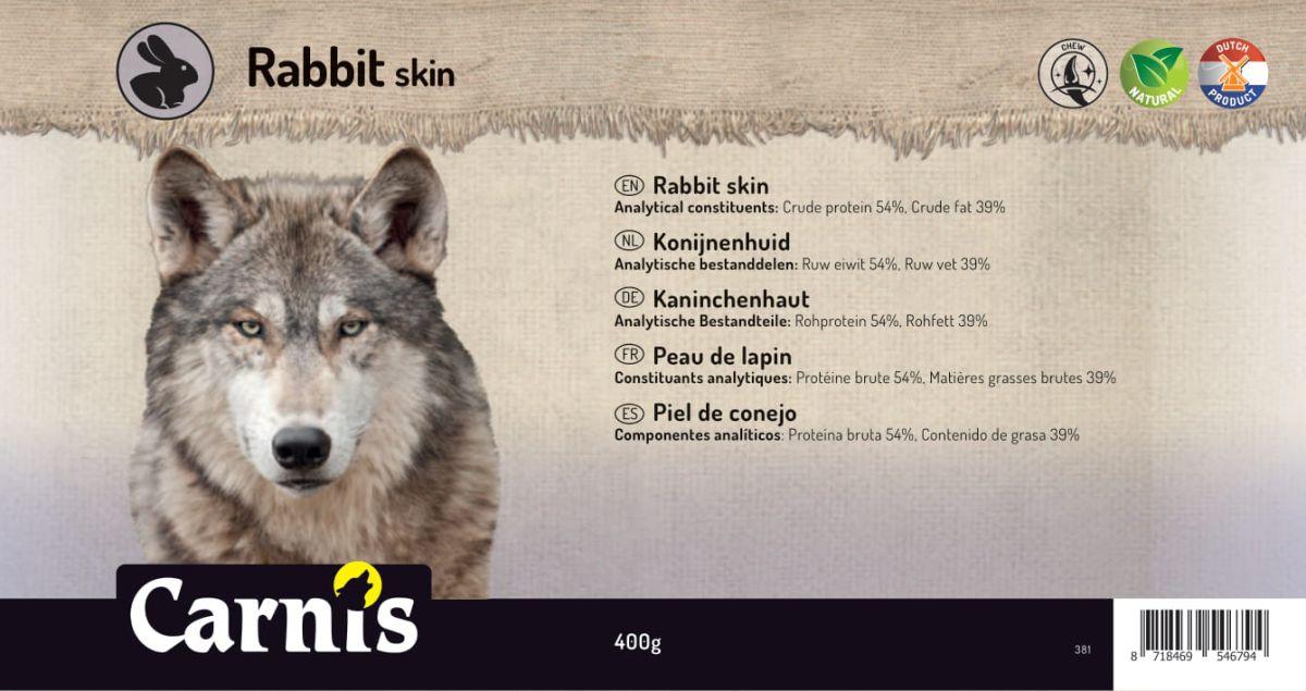 rabbit skin 5 x 400g