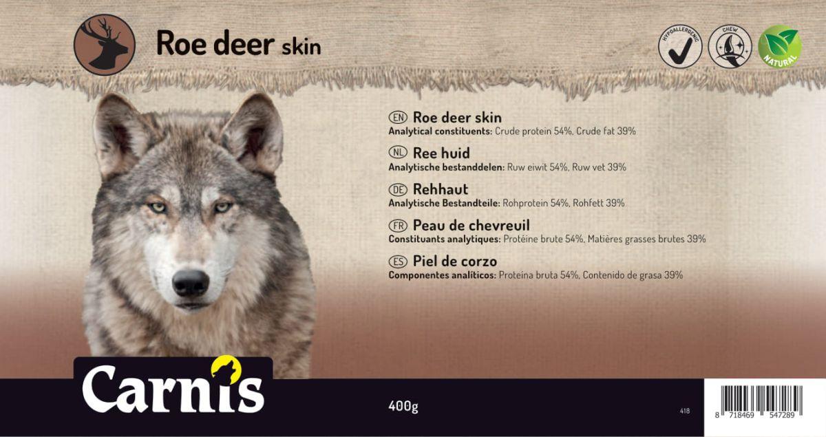roe deer skin 5 x 400g