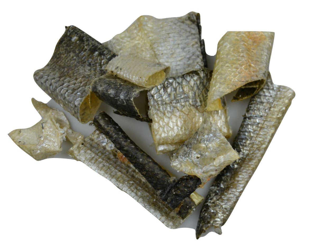 salmon skin pieces 5 x 150g
