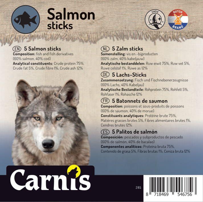 salmon sticks 5 x 5 pieces