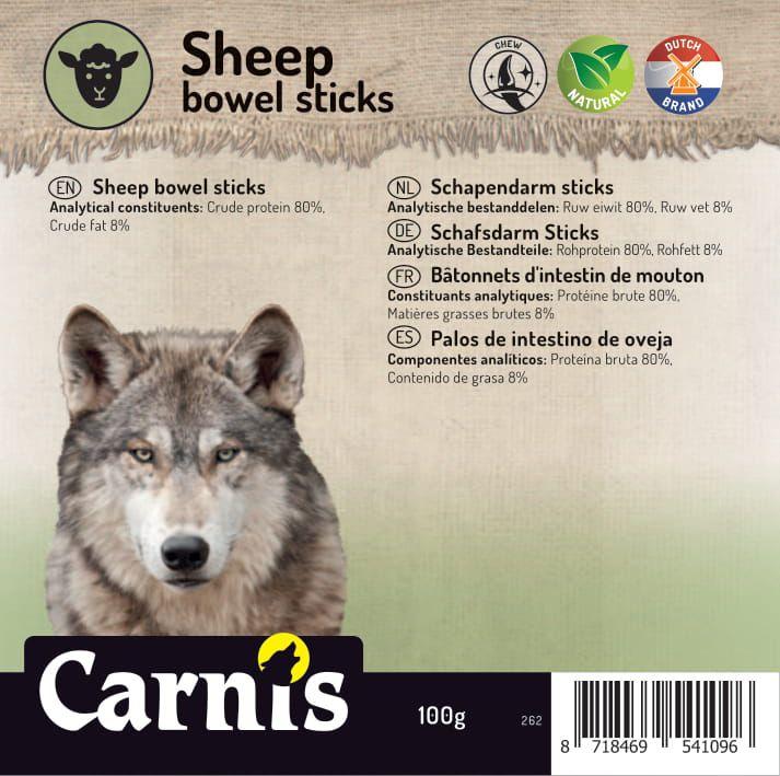 sheep bowel sticks 5 x 100g