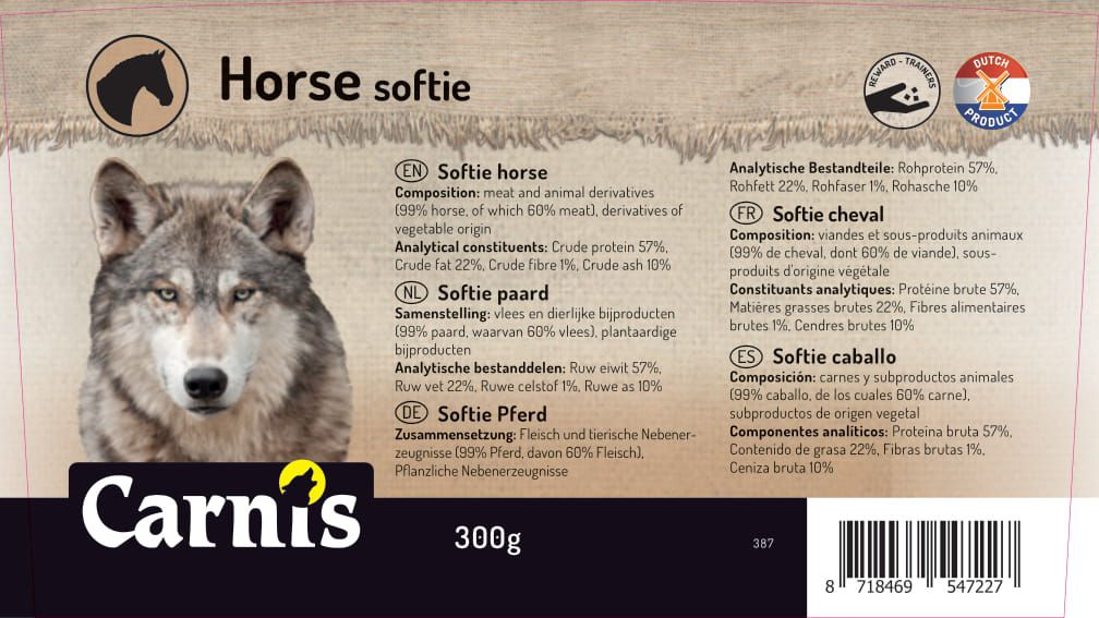 softie caballo 8 x 300g
