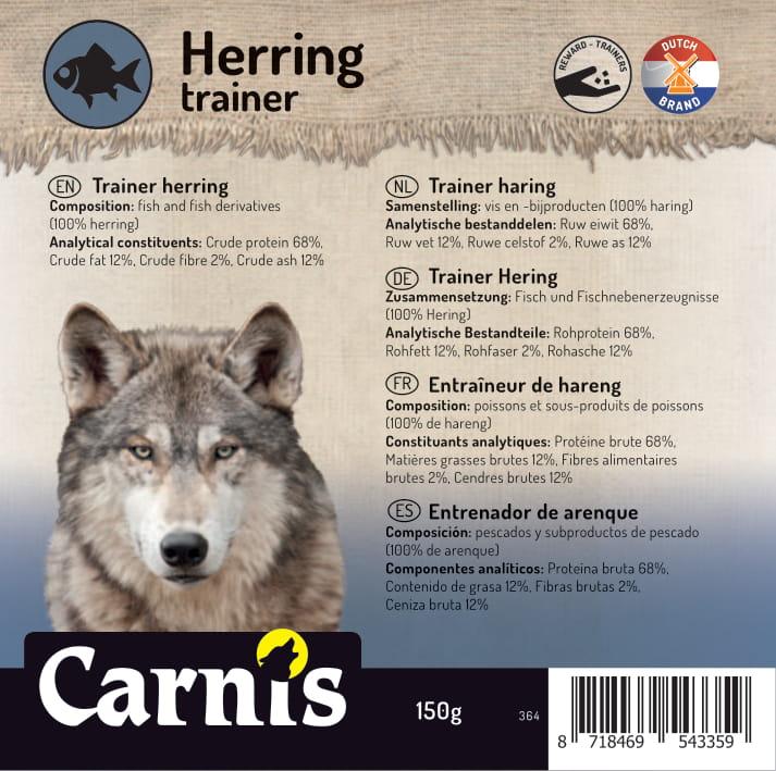 trainer herring 5 x 150g