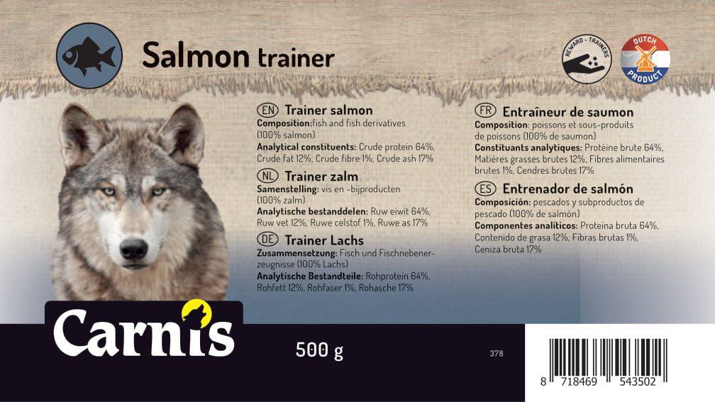 trainer salmon 8 x 500g bucket