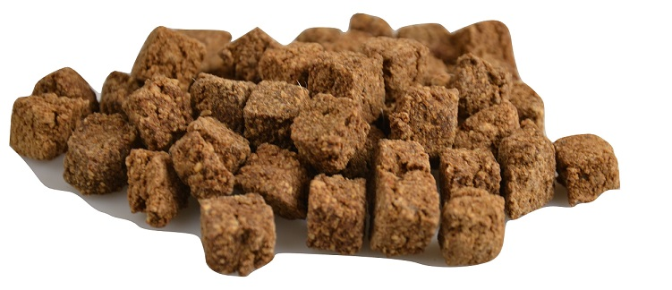 turkey mini cubes 8 x 400g bucket